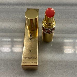 YSL Rouge Volupte Shine - 43 Rose Rive Gauche
